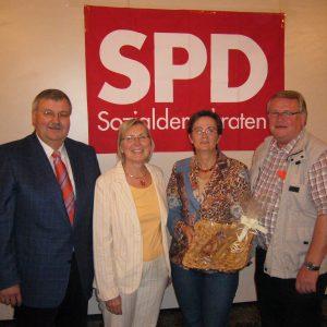 Bernd Banschkus, Gisela Lehwald, Birgit Sippel, Reinhard Jung (MdL)