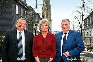 Reinhard Jung (MdL), Petra Crone, Bernd Banschkus