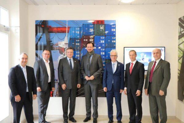 Besuch der EMG Automation GmbH